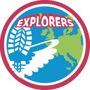Logo Explorers - Scouting Nederland